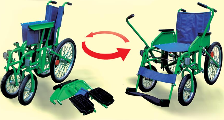 Коляска инвалидная складная цена