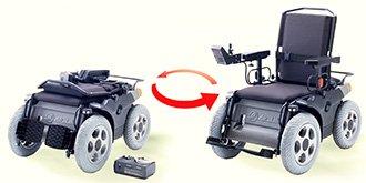 Коляска для инвалидов с электроприводом, цена